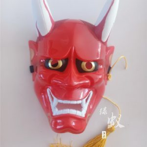 hannya cosplay women horns mask