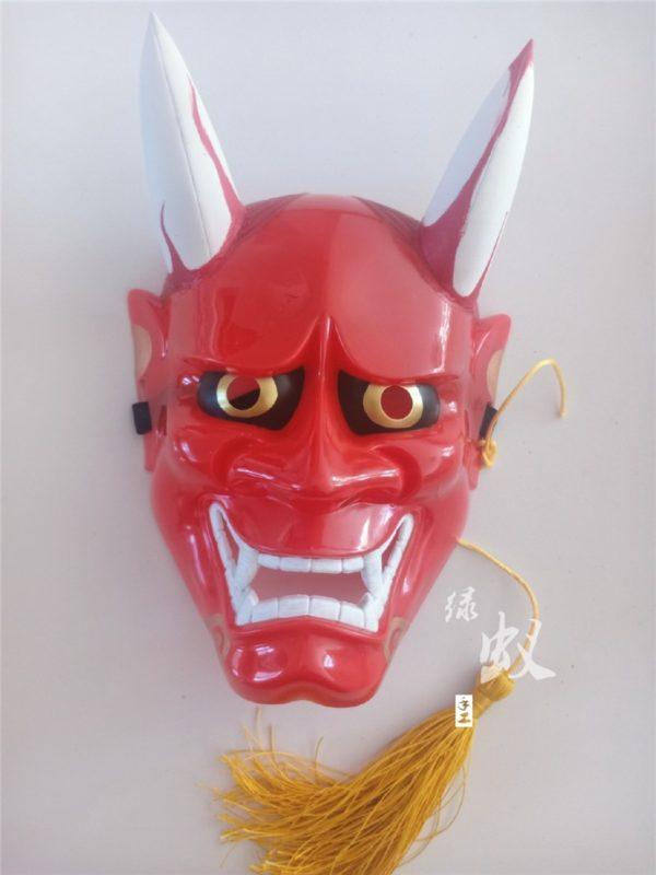hannya cosplay women horns mask