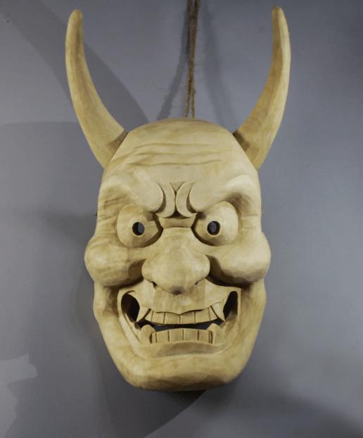 Jya Noh wooden Mask
