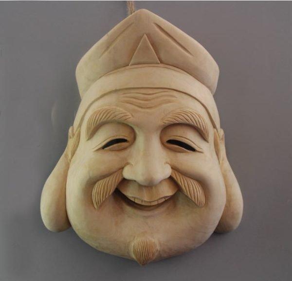 Kyogen Daikoku Mask