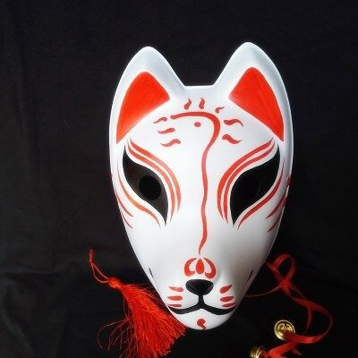 kabuki-masks-hand-painted-kitsune-mask-2
