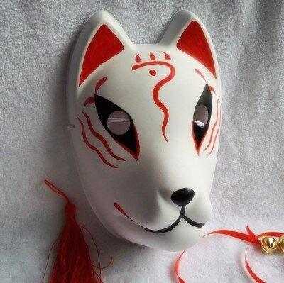 kabuki-masks-hand-painted-kitsune-mask-4
