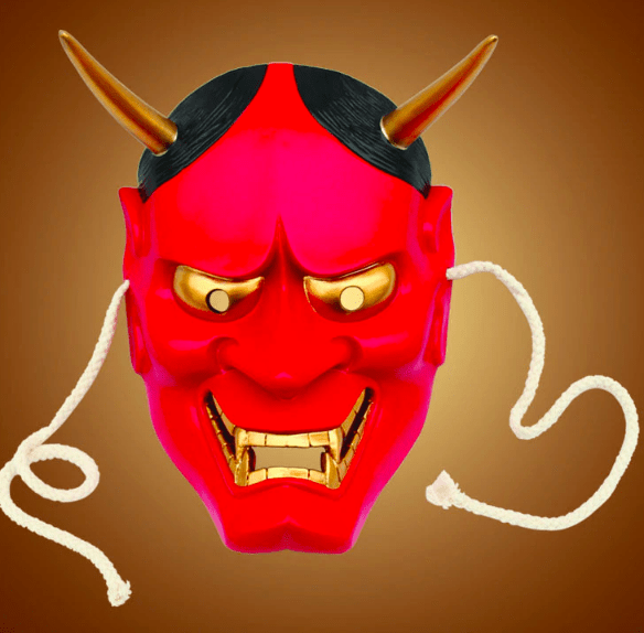 large red hannya