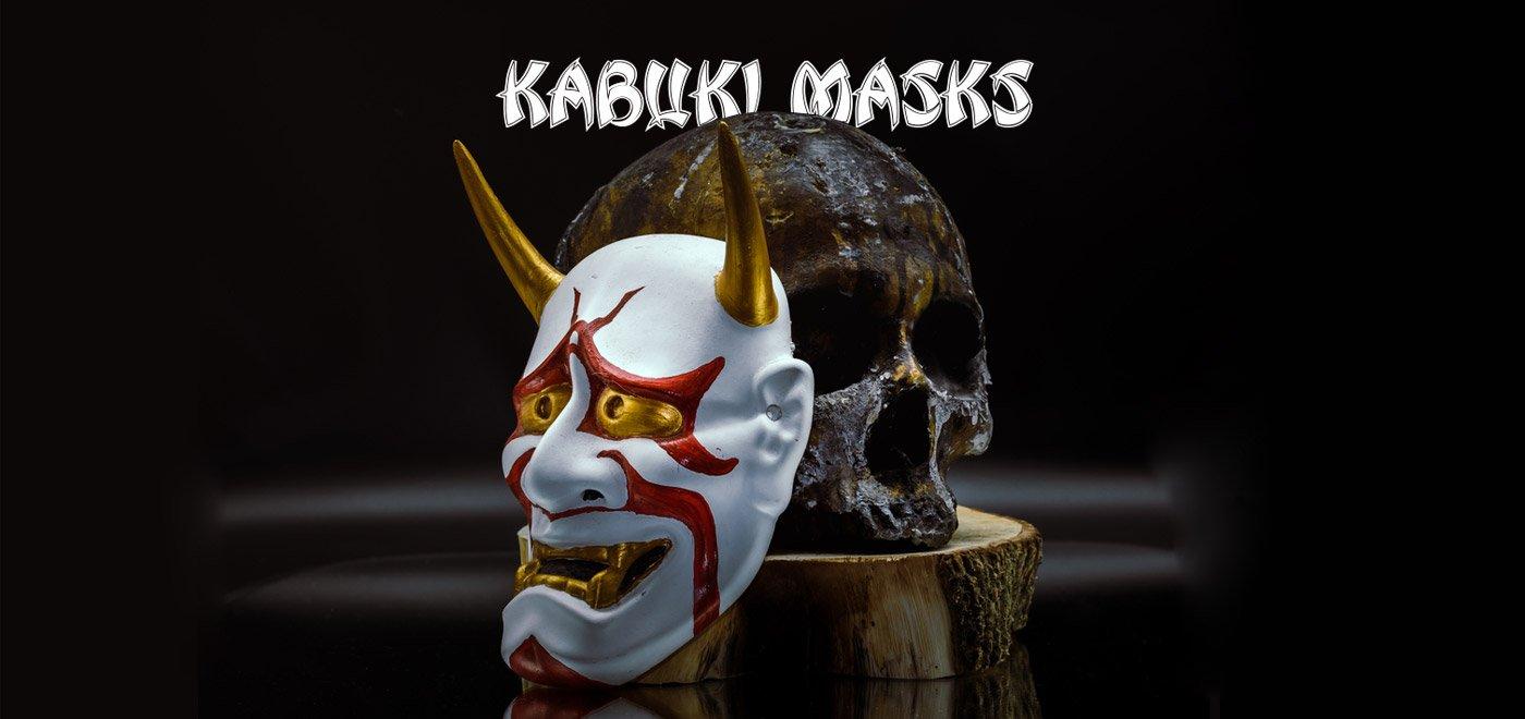 kabuki masks banner