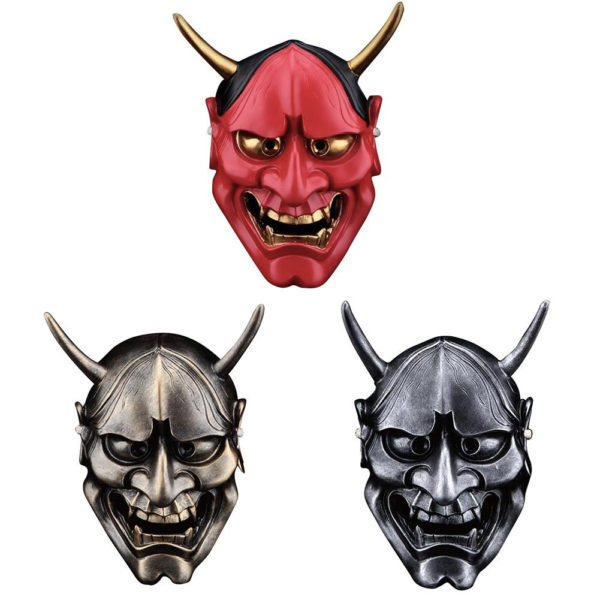 oni male demon mask