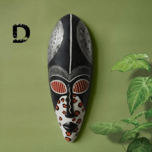 Artistic Resin African Mask Wall Hanging
