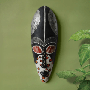 Creative African Mask Wall Decoration