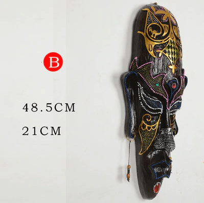 Creative African mask Wall Hanging Art Decoration