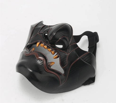 Ghost of Tsushima Sakai Half Face Samurai Mask