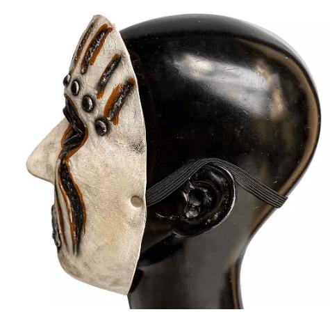 Half face Slip knot mask 1