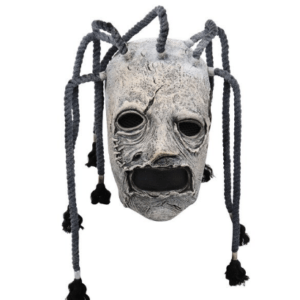 Halloween Slipknot Mask with long hair
