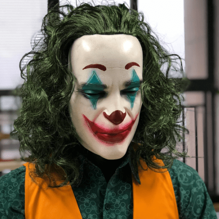 Horror Joaquin Phoenix Joker mask