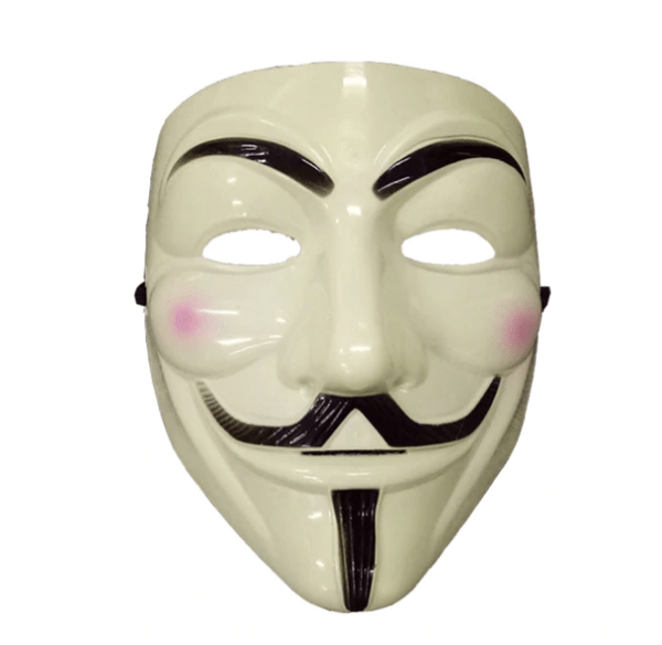Yellow Guy Fawkes Mask